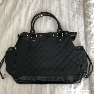 Brand new black LuLu purse